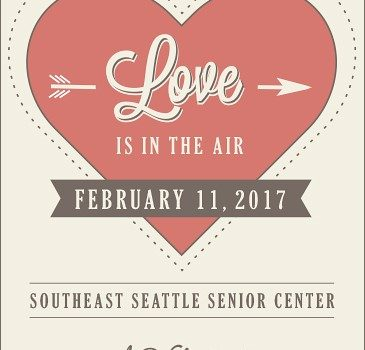 SAVE THE DATE: A Valentine's Gourmet Dinner Gala to Benefit SE Seattle Senior Center