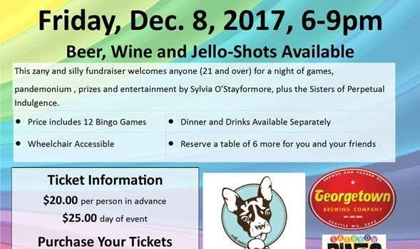 SAVE THE DATE: Rainbow Bingo Mistletoe Madness at SE Seattle Senior Center